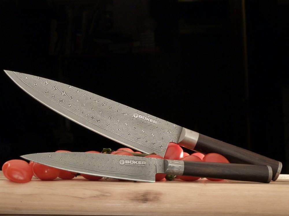 Messer Graz Böker Böker Damast Superior Kochmesser