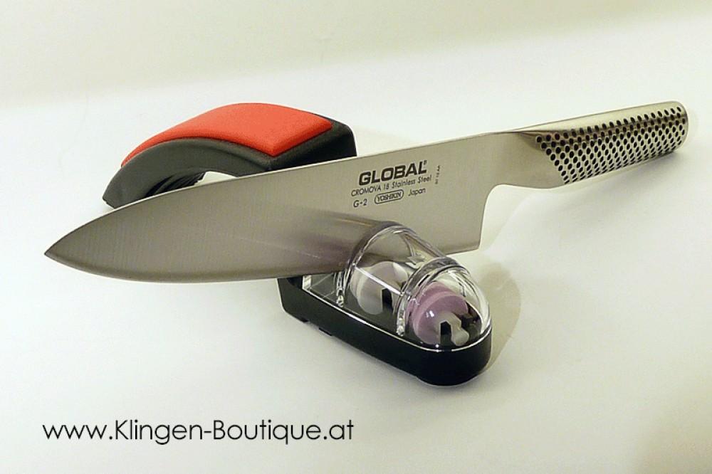 Messer Wien Geschmiedetes Kochmesser von Global. Global_g-2_japanisches Kochmesser_Küchenmesser