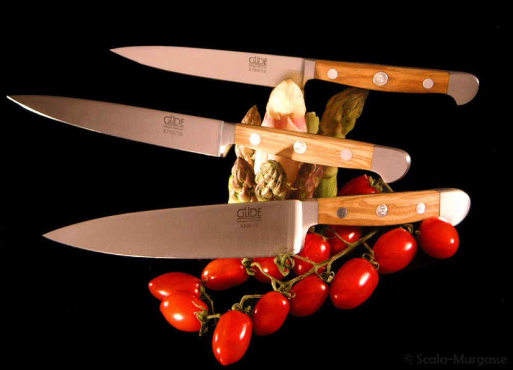 Messer Graz Güde Güde Alpha-Olive Kochmesser