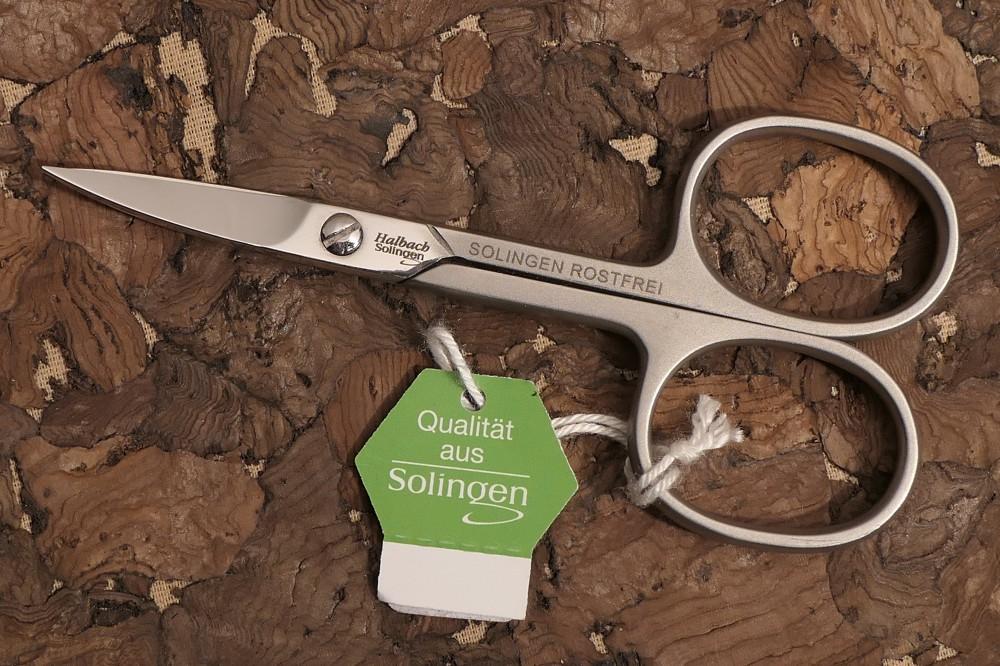 Messer Wien Nagelschere von Halbach aus Solingen. Geschmiedet und rostfrei. manikuere halbach nagelschere rostfrei geschmiedet solingen