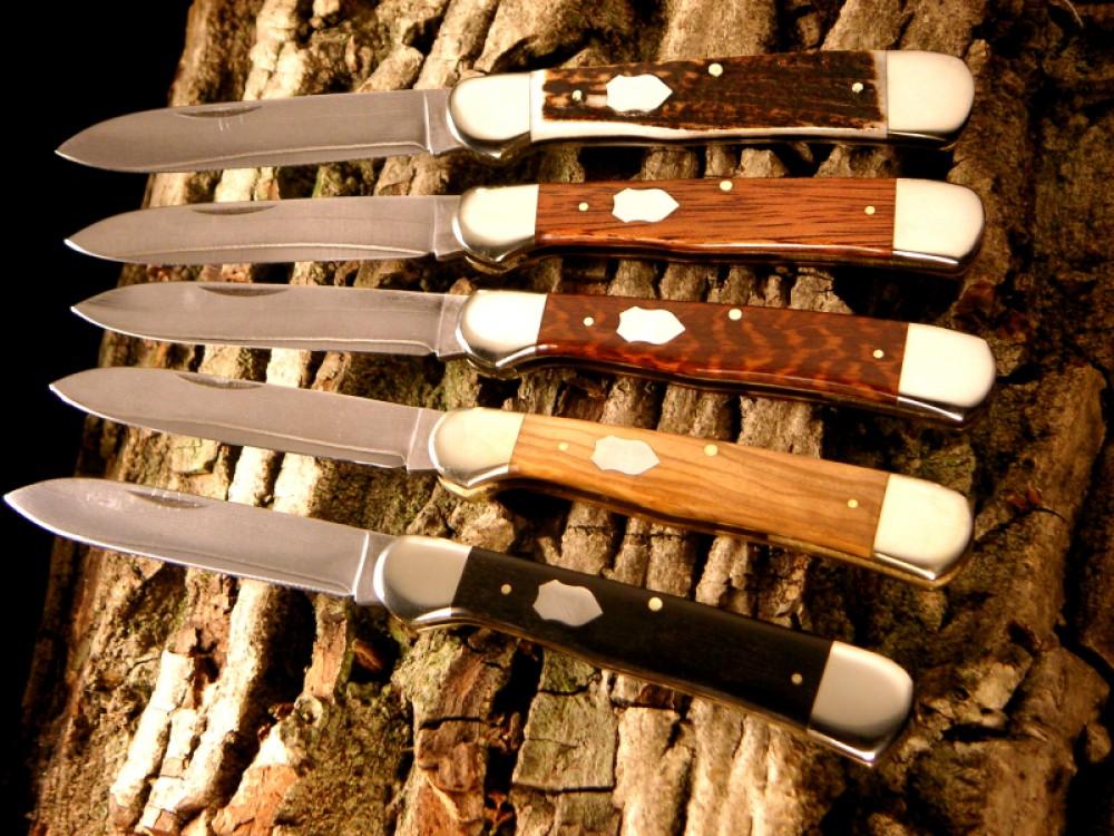 Messer Wien Hartkopf Hartkopf Taschenmesser mit 3-Lagenstahl-Klingen Taschenmesser