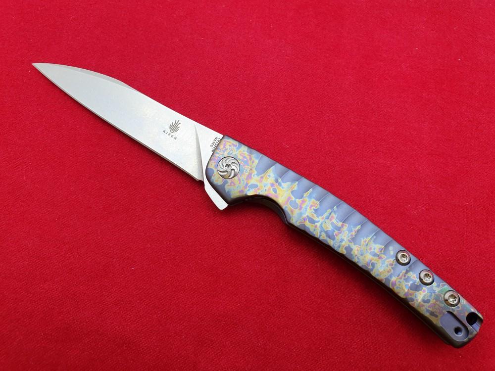Messer Wien Kizer Kizer Splinter Rainbow Taschenmesser