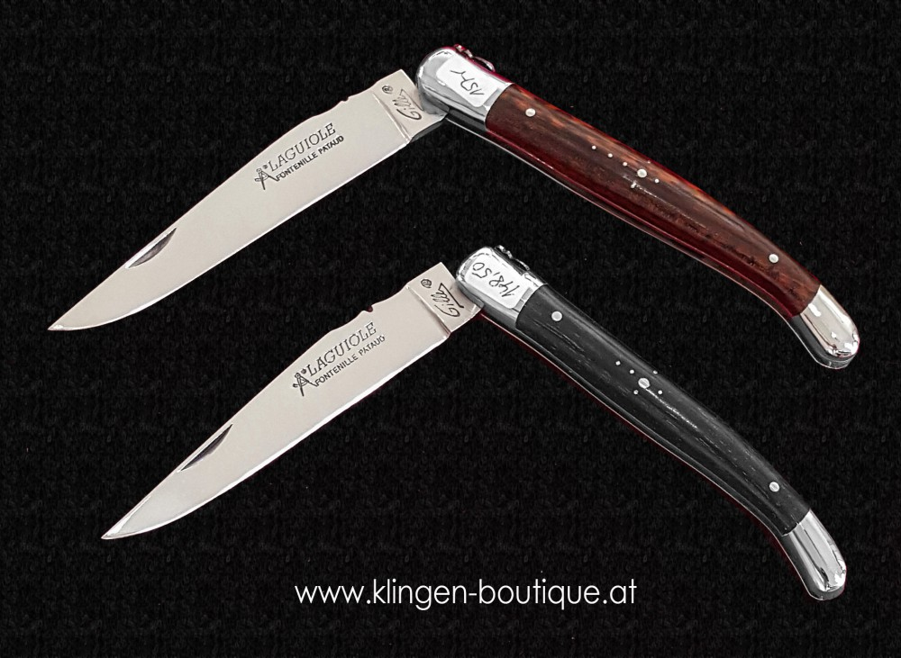 Messer Wien  Fontenille Pataud Laguiole Taschenmesser  amourette ebenholz Klingen-Boutique Messer Wien Graz