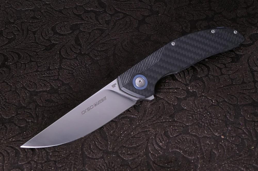 Messer Wien Viper Orso Carbon Taschenmesser