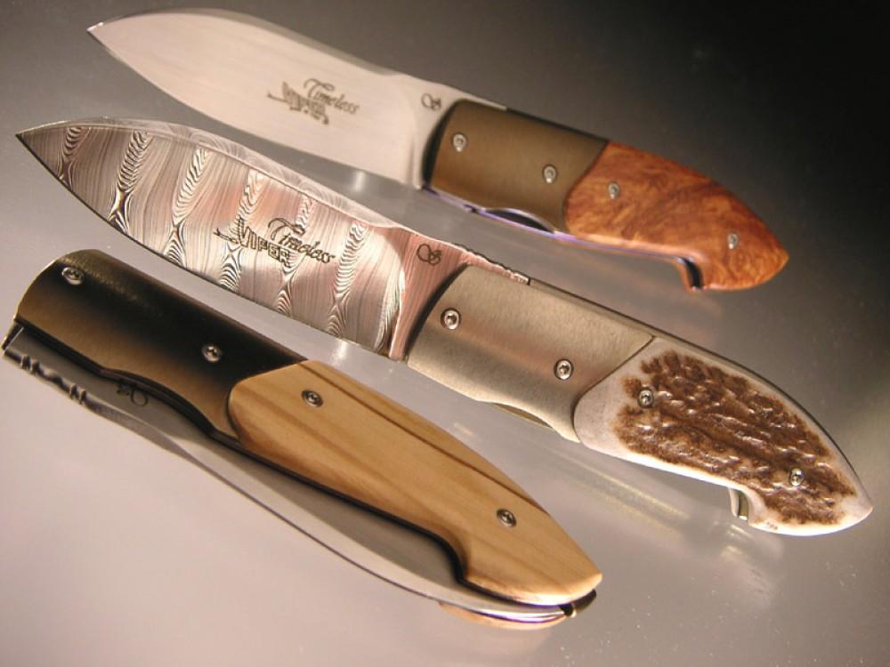 Messer Wien Viper Viper Timeless & Timeless Damascus by Tecnocut Taschenmesser