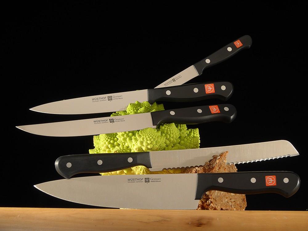 Messer Wien Klassische Kochmesser, nicht geschmiedet. Sehr beliebt bei Lehrlingen! kochmesser, küchenmesser, wüsthof, dreizack, solingen, brotmesser, gemüsemesser