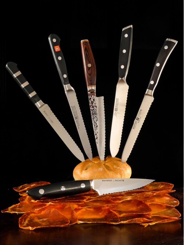 Messer Wien Besonders beim Frühstücken sind Tomatenmesser ein Genuss! Sie gleiten herrlich durch Brotkrusten, Wurst und Tomaten! tomatenmesser wwüsthof miyabi dick zwilling solingen rps schliff Klingen-boutique Messer Wien Graz