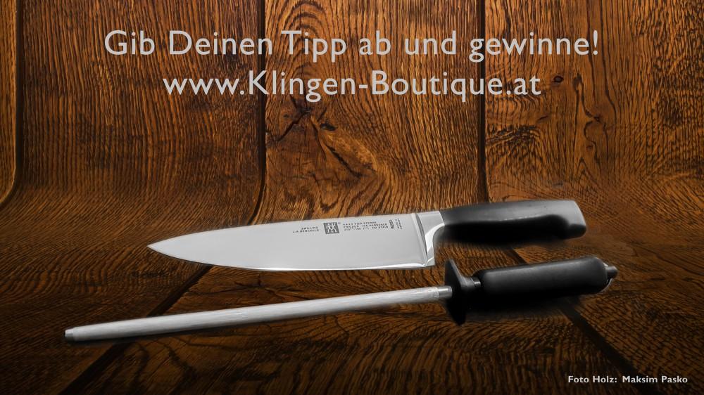 Messer Wien  GEWINNSPIEL AUF FACEBOOK